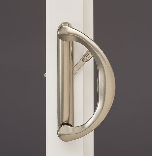 features hardware tuscany deco door satinnickel